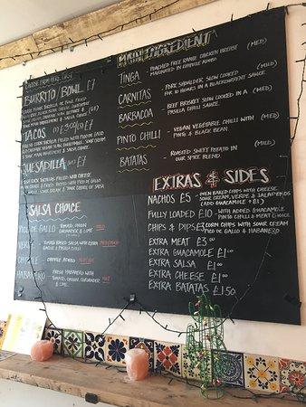 Fab burrito, brilliant service!