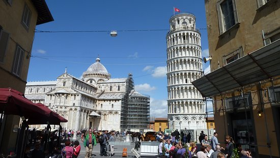 Pisa, Italien: The compound where the Tower is