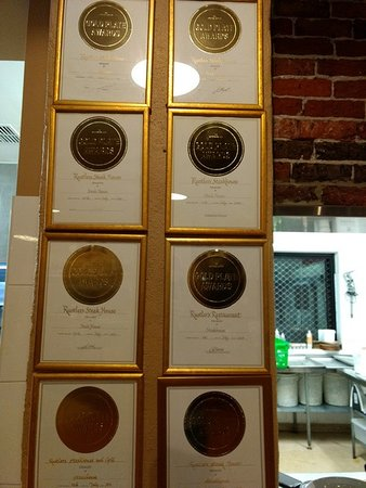 Rustlers Steakhouse and Grill: awards