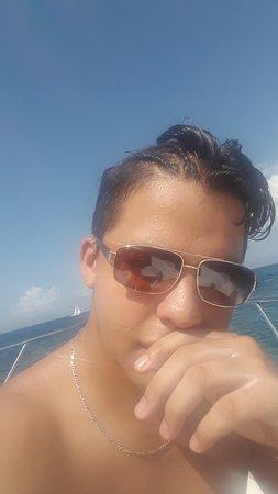 Roatan, Honduras: MI Hijo , guapo lo adoro , Ademas Inteligente