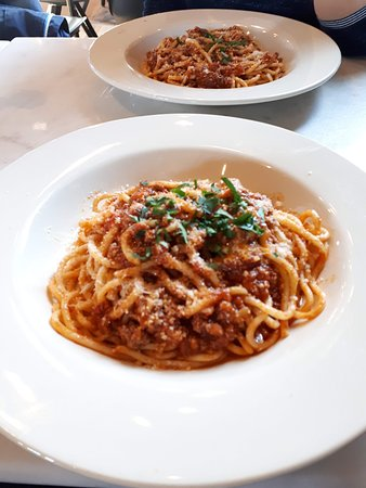 Heerlijke pasta!