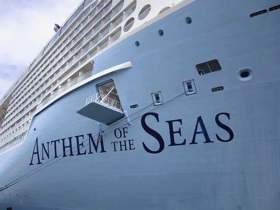 Anthem of the Seas: Bad guests walk the plank! (just kidding)