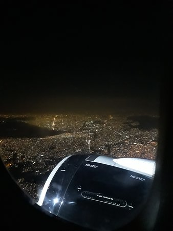 Volaris : Antes de aterrizar, una muy buena vista