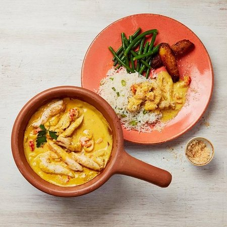 Love curries? #Xinxim is our delicious chicken and crayfish curry infused with flavours from North Brazil! It's rich creamy, lime & peanut sauce is sure to make it your new favourite dish!
