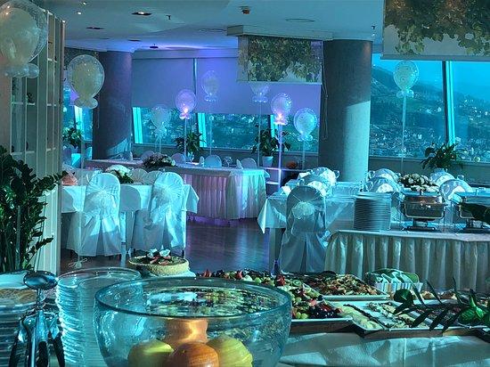 Sky garden: Wedding