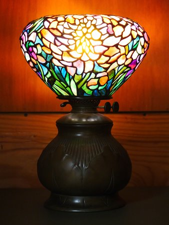 A rare and early example of a Tiffany lamp. Photo: Corey William Schneider