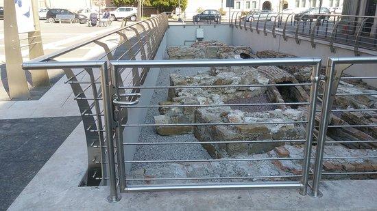 Resti Archeologici: Area degli scavi