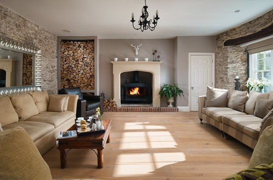 Strete Barton House: Guests' sitting room