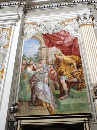 Scena di Ester e il Re