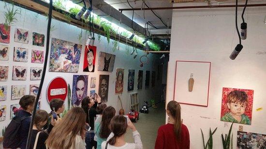 Галерея картин и мастерская Славы Зайцева