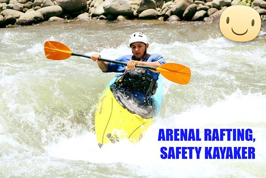 """Arenal Rafting Company, World Class Rafting"""