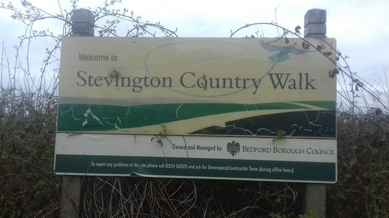 Bedfordshire, UK: Stevington railway walk.