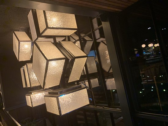 nice wall of light