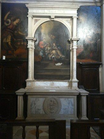 Inside the church San Giovanni Elemosinario