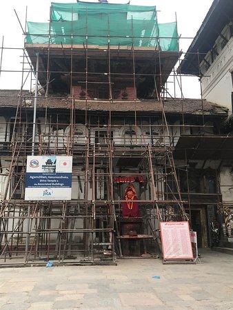 Hanuman Dhoka entrance (still under repair)