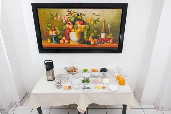 Desayuno Hotel Incasol