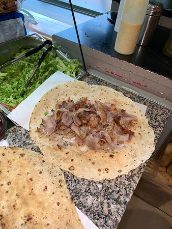 Kebab galette (fait maison)