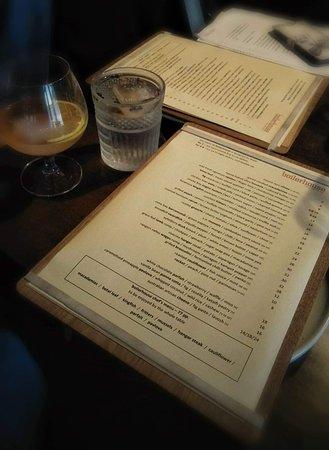 Boilerhouse Kitchen & Bar: the menu