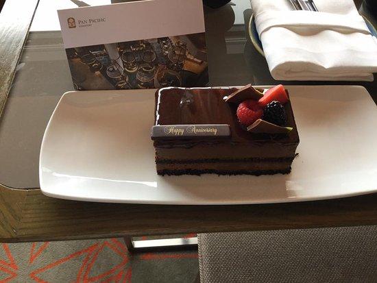 Pan Pacific Singapore: Anniversary surprise