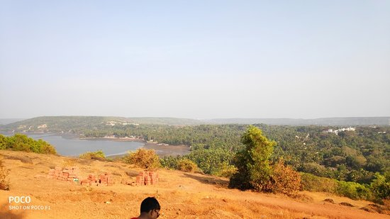 View from Chapora Fort Entrance!