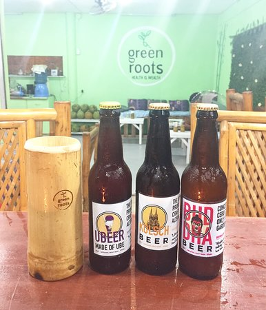 Must try craft beers. Kolsch, Buddha and Ubeer