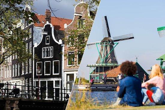 アムステルダム超お得ツアー:市内観光とザーンセ・スカンス風車村、フォーレンダム、…