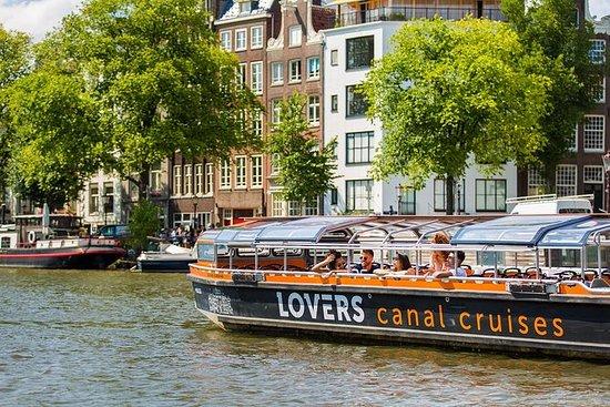 Crucero por los canales de Ámsterdam...