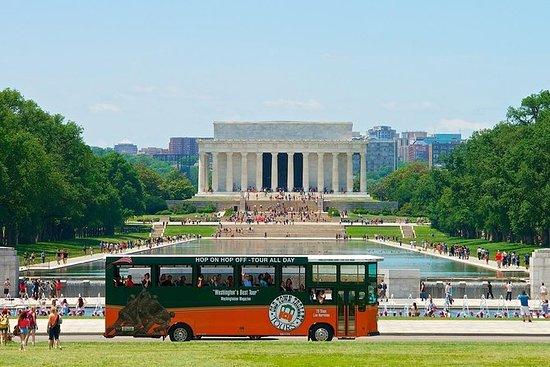 华盛顿特区超级节省:月光之旅的随上随下电车+纪念碑