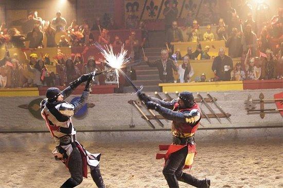 Cena y torneo en Medieval Times en Chicago