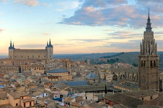 托莱多和埃尔格列柯导游带有可选的大教堂和午餐
