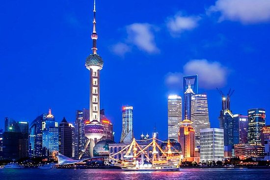Shanghai Night River Cruise Tour med...