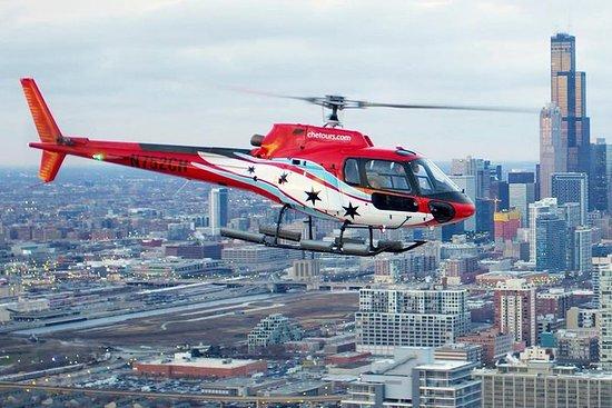 Helicóptero en Chicago