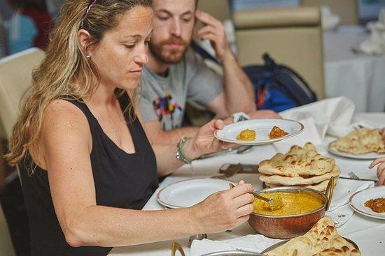 Excursão de comida secreta indiana do...