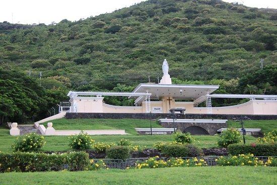 Port Louis: Open church on hillside