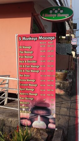 3 Monkeys Massage