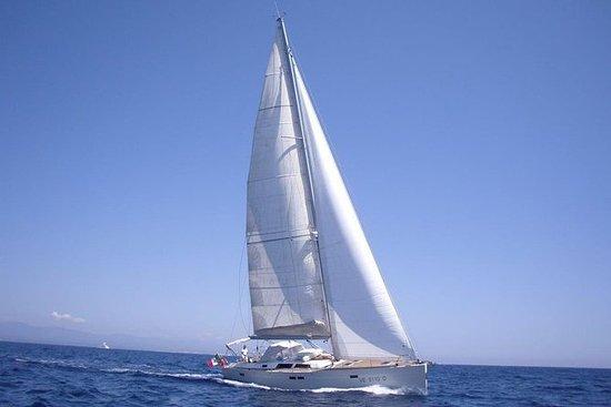 Santorini verlor Atlantis 9D Erfahrung: Private Full or Half Day Sailing Cruise