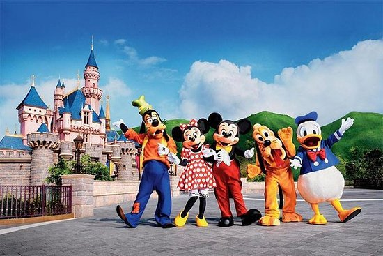 Hong Kong Disneyland Billetter bare