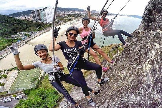 Rapel 47 mètres - Morro do Maluf (Guarujá) : Rapel 47 meters - Morro do Maluf (Guarujá)