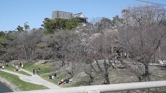 岡崎公園内のお城