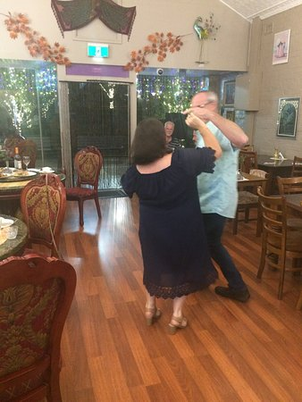 Tenterfield Viet-Thai Lic.Restaurant: All time cha cha cha hit 'Smooth' by Carlos Santana kept Greg and Marilyn dancing. Visit us or book your function now.