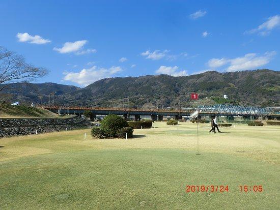 Kaisei-machi, Japan: 天気がいいのでパークゴルフに行きました。