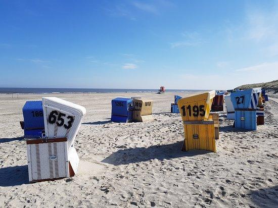 Hotel Bethanien Langeoog.: 14 Kilometerlanger Sandstrand