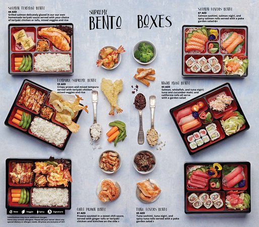 Beautiful, delicious Bentos!