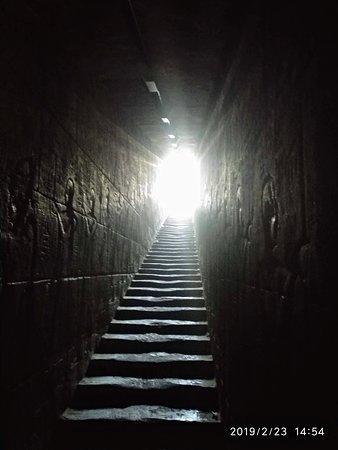 Staircase leading to the roof from Inner ant chamber. Entry barred to visitors..