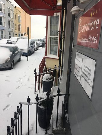 Snow of 2018 Tenby
