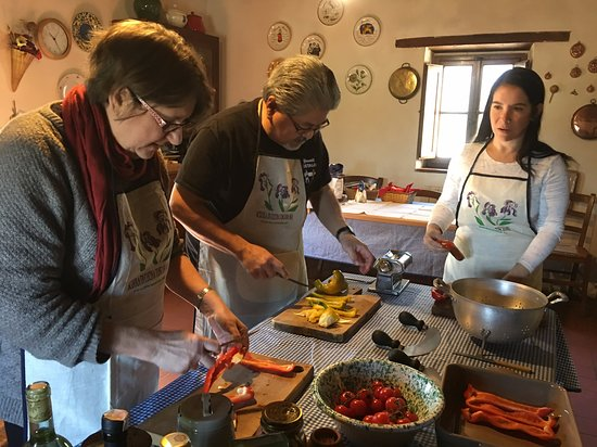 Toscana Mia Cooking Classes in Tuscany: 2019 Half Day Hands on Italian Cooking class #Tuscany #Chianti