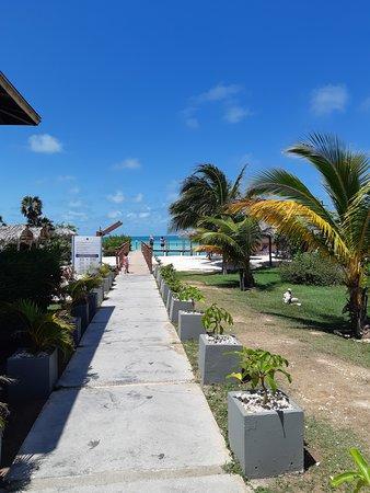 Iberostar Selection Playa Pilar: Accès à la mer de l hotel