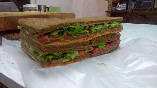 Sandwicheria TenTempie: Sandwich Vegetariano