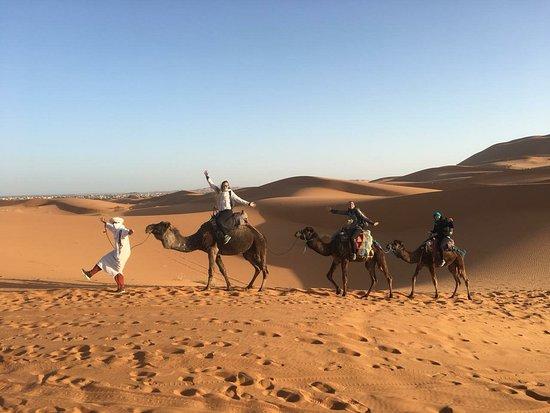 Disfrutando De Marruecos