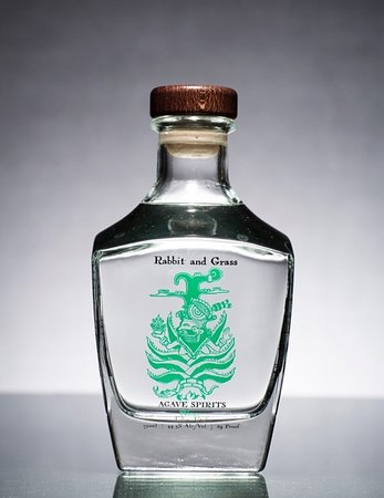 Rabbit and Grass Blanco Agave Spirits: Gold Medal Winner at the San Diego International Spirits Competition, 2017.